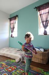 一緒に塗った子ども部屋