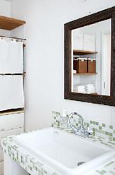 2階にお風呂・洗濯場を設けたことで、働く奥様の時短にも!